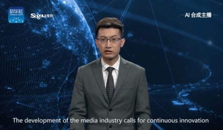 The 'world's first' A.I. news anchor in China