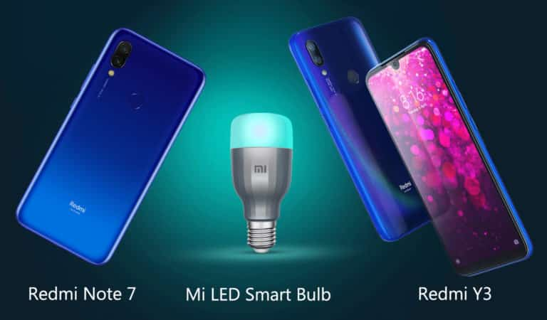 Xiaomi Mi LED Smart bulb launched in India.