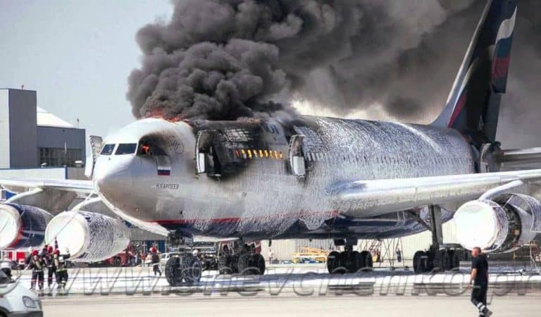 Moscow airport: Plane accident